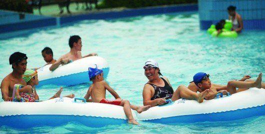 夏日清凉消暑 搜罗广州周边6个最具特色游泳场