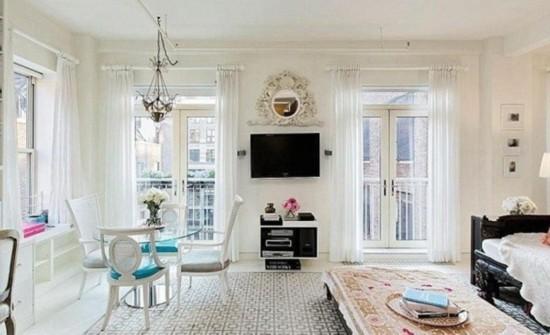 名模米兰达·可儿曾经的单身公寓