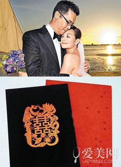 高圆圆和赵又廷的婚期将近,小俩口也忙着筹备婚礼,而结婚请帖走的是