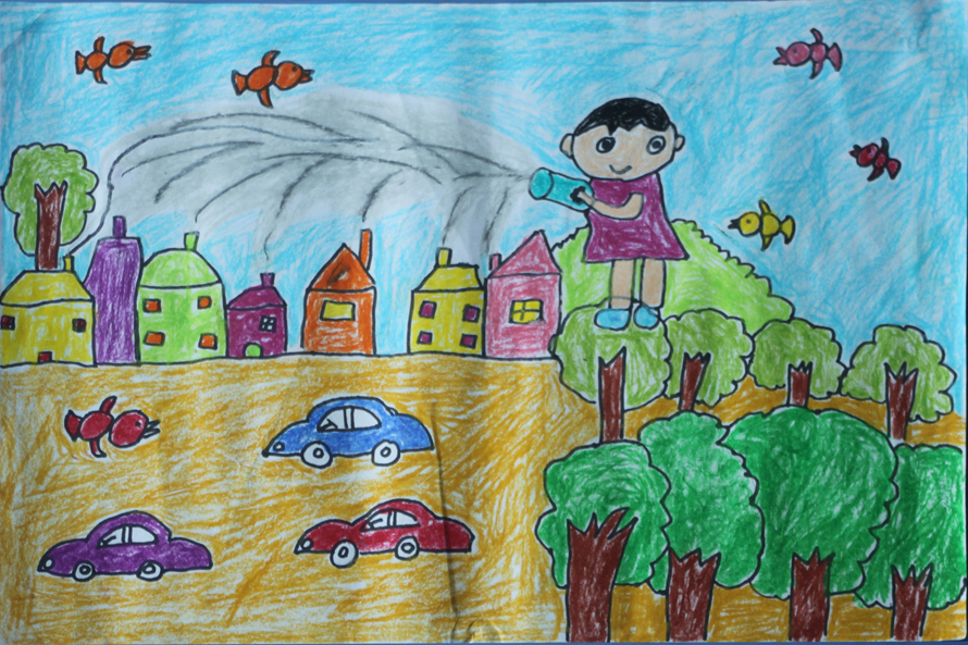 儿童画 890_593图片