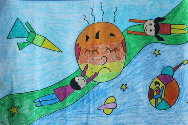 儿童绘画启蒙教育
