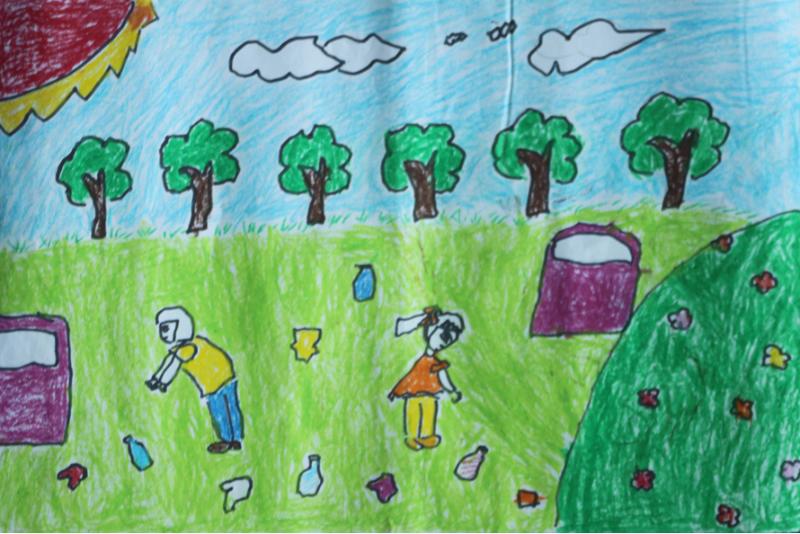 儿童画 800_534图片