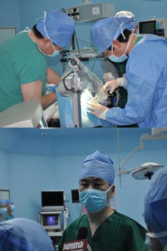 10点30分:手术进行时