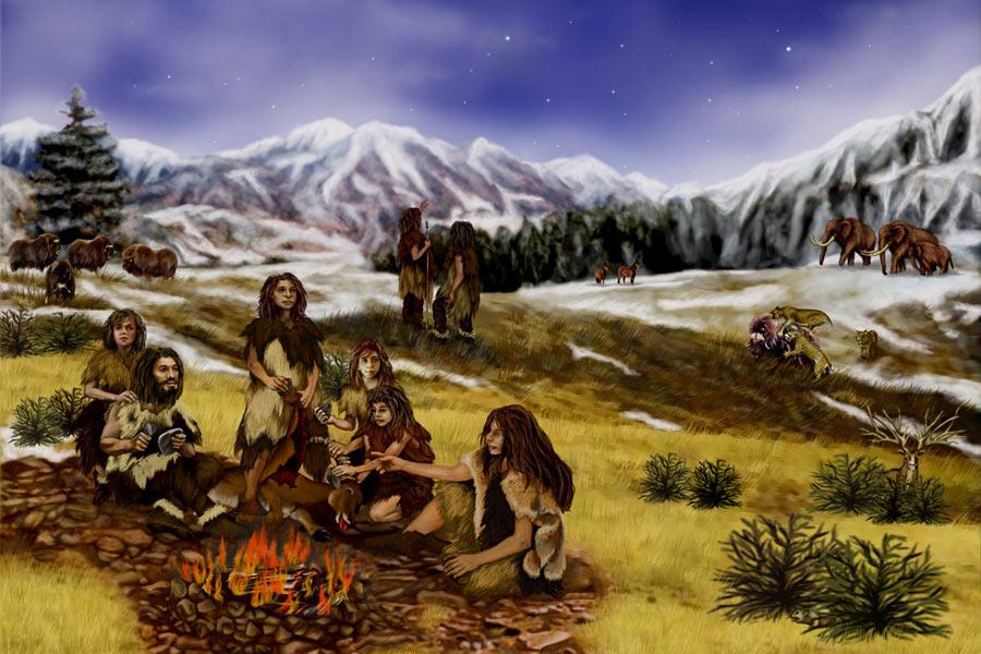 西班牙北部艾尔希德隆洞中来自47300到50600年前5个尼安德特人化石的牙结石成分里含有甘菊环烃、香豆素等多种植物性化合物。这些植物味道苦涩,但具有药用价值,这说明尼安德特人不仅采食各种植物,懂得制作熟食,甚至了解某些植物的药用价值。