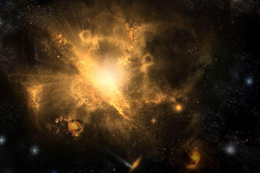 由于宇宙大爆炸是以加速的速率膨胀,所有星系将以超光速的速度远离我们,遥远星系移动得要更快,最终我们将无法从地球或者银河系内其它地方观测到其它星系。大爆炸信号可能在1万亿年内消失。那时,银河系将与仙女座相撞,孕育出银河仙女星系。