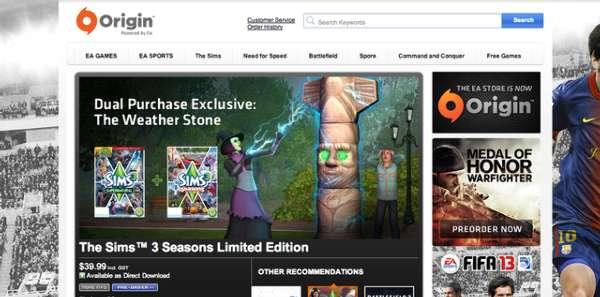 EA宣布Origin游戏平台将登陆Mac 内测版很快发布