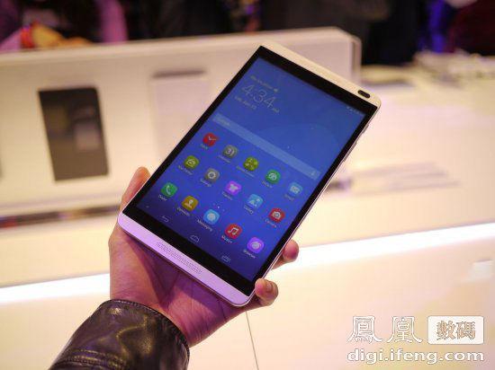 华为发8寸平板MediaPad M1 售价1299元起
