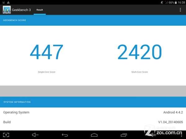 7.9吋视网膜3G通话台电P89 3G八核评测