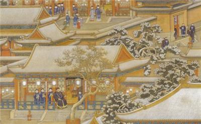 清代皇帝过年吃白肉片 祭拜后给大学士品尝