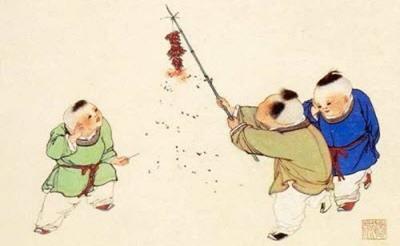 """古代拜年习俗:因时间集中 发明""""飞帖""""拜年"""