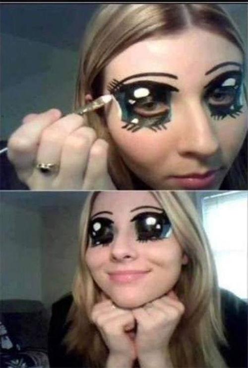 当二次元穿越三次元 雷到你无力的动漫化妆 游