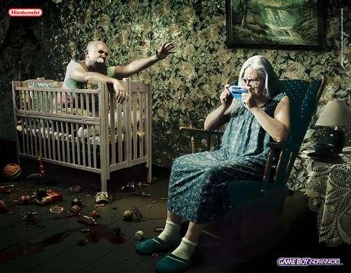 妹纸床绑求虐!任天堂不愿提及的十大奇葩广告