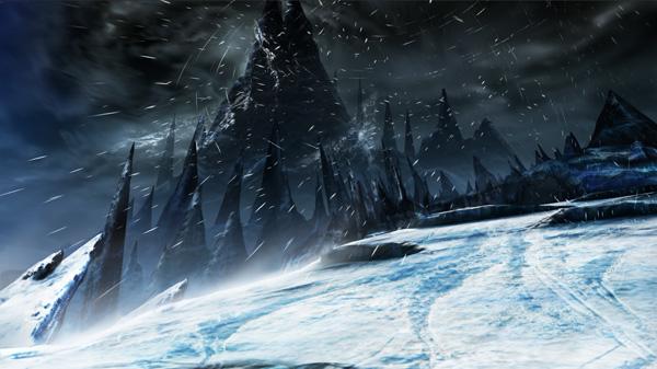 《怪物猎人4》实机截图:旋齿鲨新地图登场
