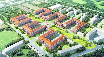 山东大学青岛校区学生公寓开建 2015年5月竣工图片