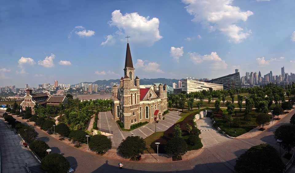 两江新区新地标 江北嘴中央公园图片 57455 960x564