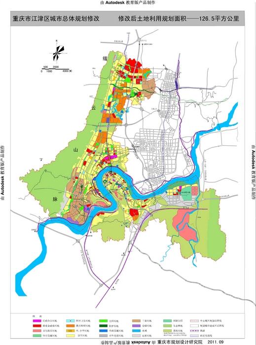 江津规划图 江津滨江新城 重庆二环线上的璀璨明珠 图 高清图片