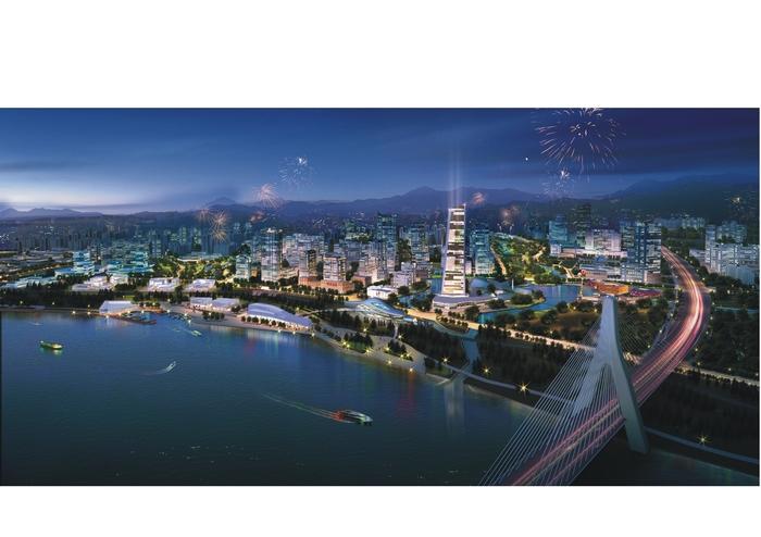 组图 图说未来江津滨江新城 高清图片