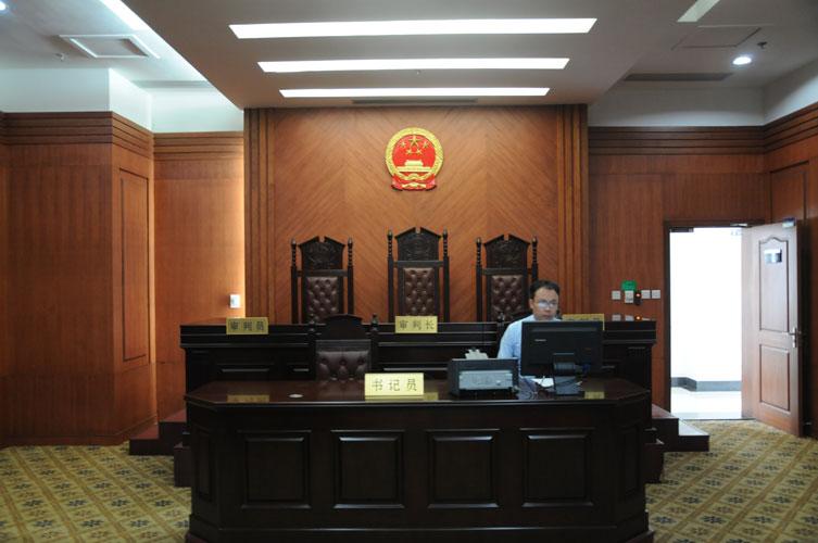 西安中级法院现场高清图