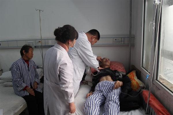 绥化市第一医院医疗专家组对口支援帮扶义诊
