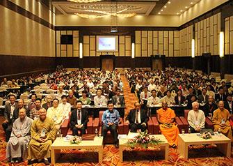 第四届世界居士佛教论坛开幕式