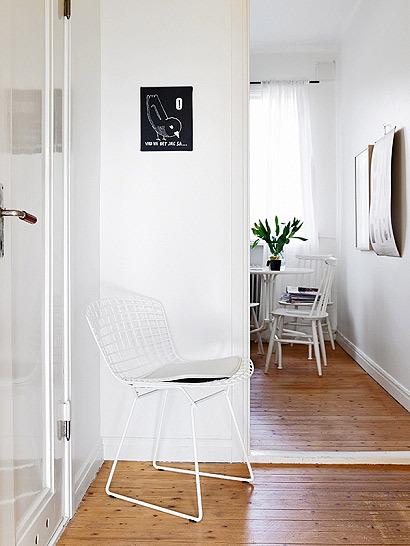 33平米清新单身公寓 给空间一点翠绿色