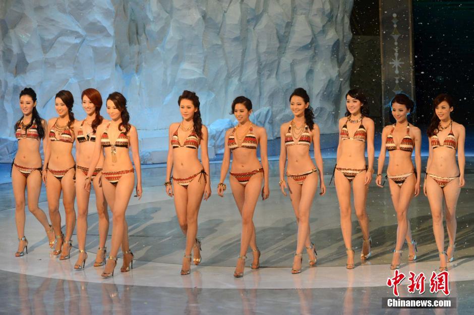 2014年度香港小姐冠亚季军性感出炉 厦门频