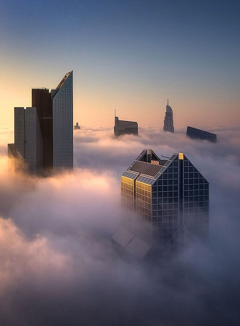城市奇观:云中的迪拜 - 闲云野鹤 - 闲云野鹤的博客