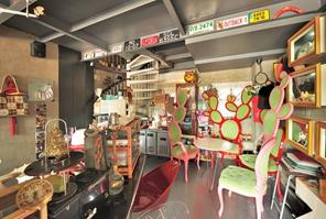 猪圈小屋咖啡厅实景