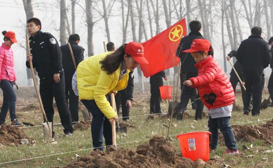 淮北市义务植树工作措施实施 成效明显