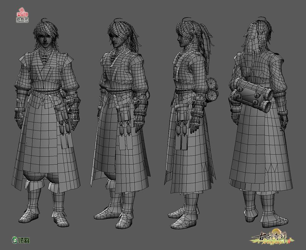古剑奇谭2男女主角3d形象公布图片