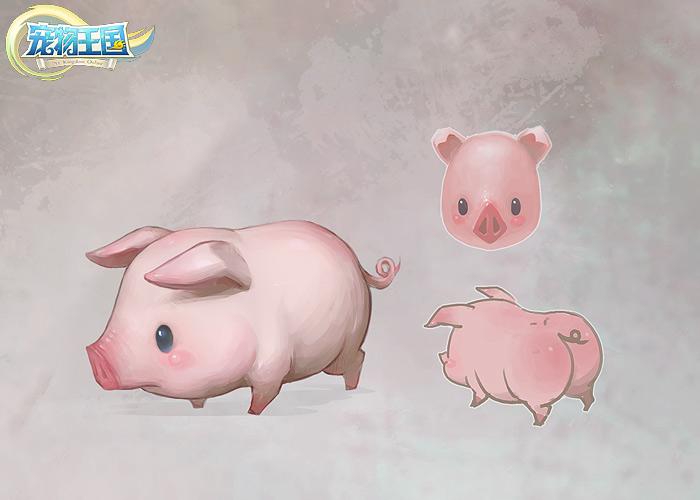 猪图片可爱萌宠