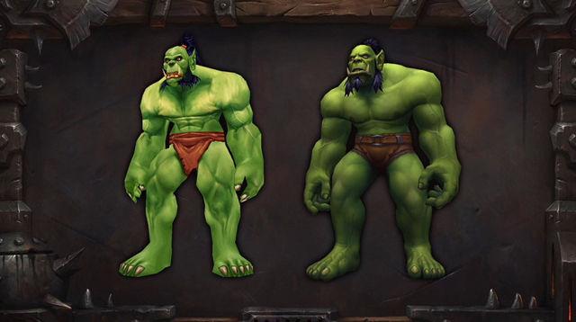 魔兽6.0新特色:对抗《魔兽争霸》兽人部族
