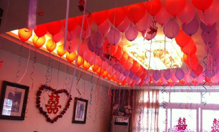 气球室内布置图片