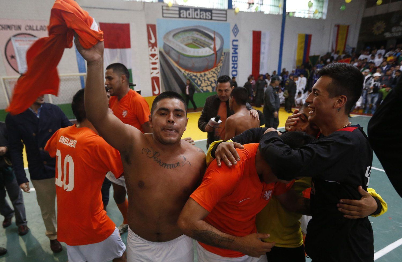秘鲁举行监狱世界杯。