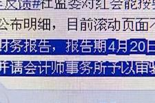 社监会审计红会雅安地震财务