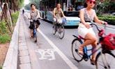 沈阳最窄自行车道不足70厘米