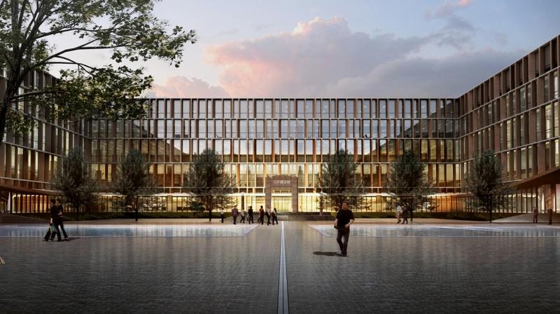 天津大学新校区图书馆方案基本确定