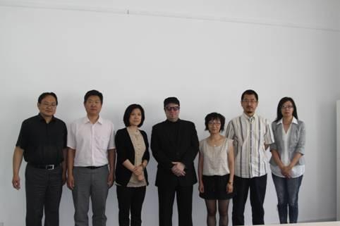英国考文垂大学艺术设计学院访问北理工设计艺术学院