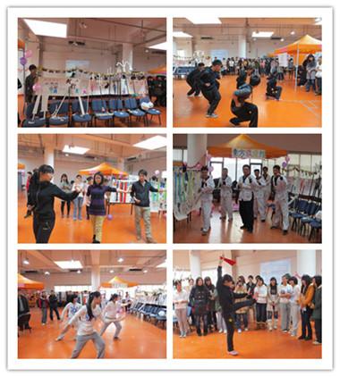 首先吸引人眼球的便是东方武道馆开场的跆拳道表演