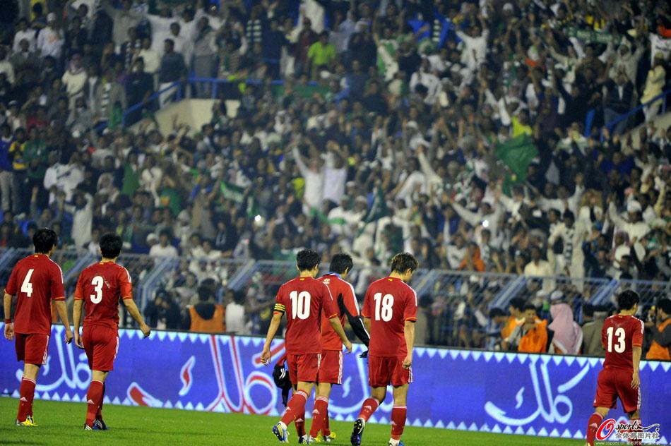 2015亚预赛中国首战客场1-2不敌沙特,16年不胜对手。