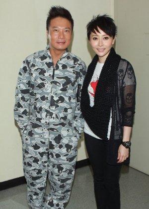 汤盈盈 钱嘉乐/汤盈盈、钱嘉乐合影(1/6张)