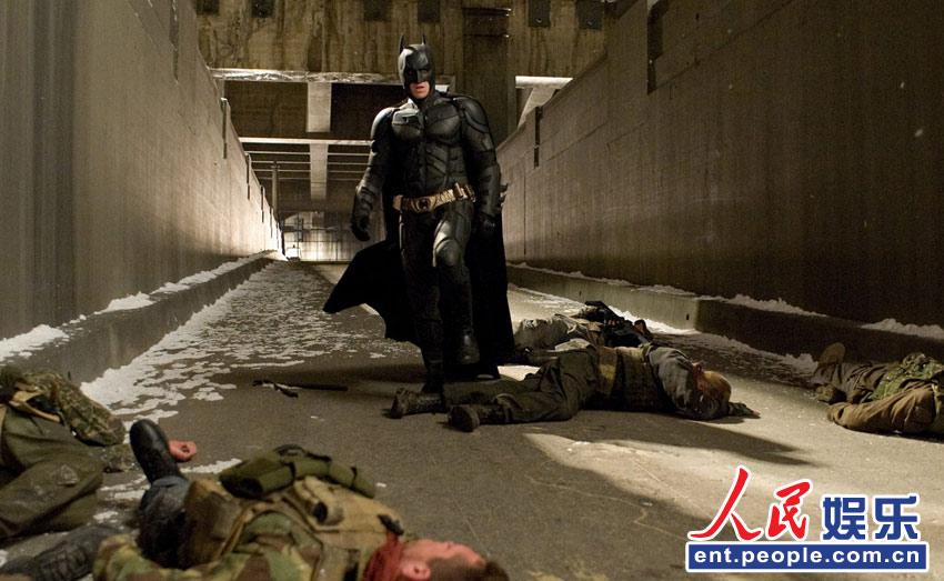 蝙蝠侠打小喽喽