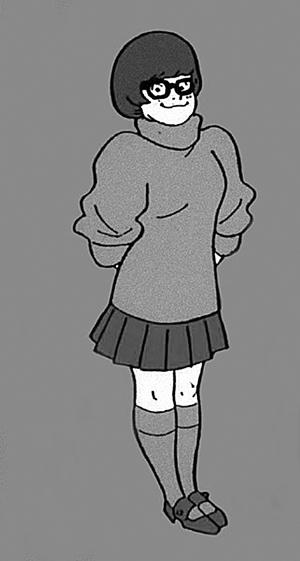 毛衣卡通简笔画
