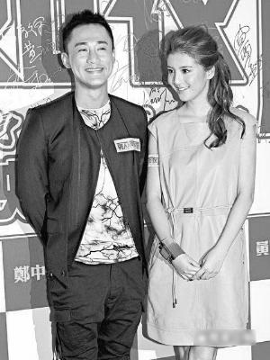 林峰与吴千语被传是在拍《男人如衣服》时对上眼图片