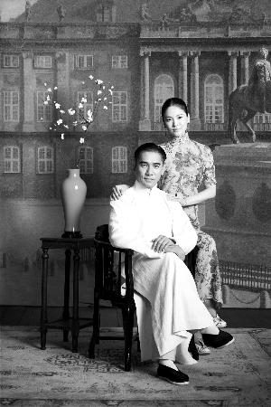 梁朝伟在片中颇有宗师风范,而宋慧乔亦演出贤良淑德的一面.图片