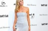 Heidi Klum(海蒂-克拉姆)银光蓝色礼服宛如人鱼公主