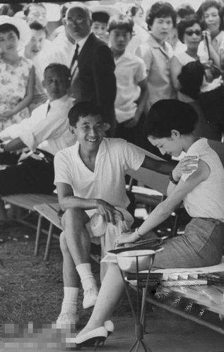 青年时期的日本皇后美智子