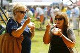 今年适逢向甜浆果致敬的25周年纪念,在阿拉巴马州的鲍德温县举行草莓节,盛情邀请人们来享受美味的草莓。