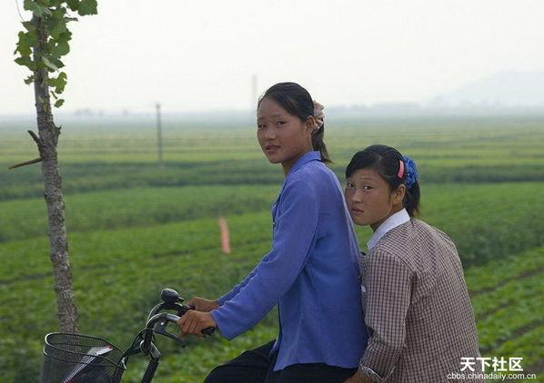 朝鲜女人_朝鲜女人摄影图__女性女人