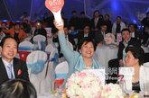 十大慈善家之一的王琳达频频举牌竞拍